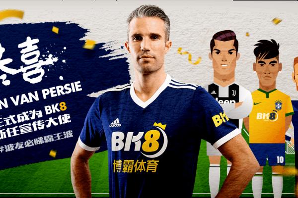 Dutch Footballer Robin Van Persie Joins BK8 As Brand Ambassador